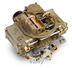 Holley 600 CFM Marine Electric Choke Vacuum Secondaries-4160 Carburetor