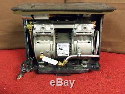 Hookah Oil Less 1/3 HP Fresh Air Vacuum Pump Aquarium Pond Oil Free Compressor