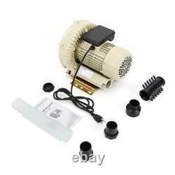 Industrial Fish Pond Air Blower Aquaculture or Vacuum Pump 60m³/h 370W 110V New
