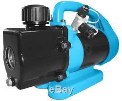 Javac CC21 1 Cfm 2 Two Stage Air Conditioning A/C Refrigeration Vacuum Vac Pump