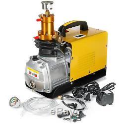 MECO 30MPa Air Compressor Pump PCP Electric 4500PSI High Pressure 220V 80L/min