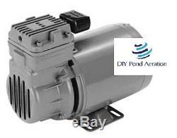 NEW 12VDC 1/3hp Thomas TA-3101 Compressor Air Ride Suspension/RV Brake/Truck Air