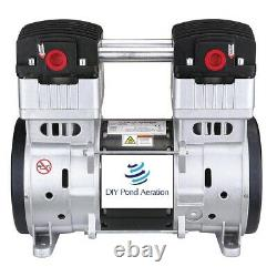 NEW 2 HP 5+ CFM 125 PSI 110V Vacuum Veneer Pump / Compressor Air Pump