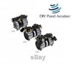 NEW 3+cfm 1/2hp 87R GAST VACUUM PUMP 26+hg /air pump/compressor/veneer/aerate