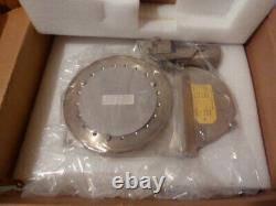 NEW Granville-Phillips Gold Seal 6 Vacuum Gate Valve Air 265004 pendulum FREE