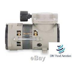 NEW THOMAS 107AB18XFTLBXX 35PSI Air Compressor/Vacuum Pump 110V 22hg