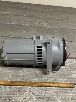 NEW THOMAS 207CDC20/12 Piston Vacuum Pump 1/10hp-12V 100PSI AIR Ride/BrakesRV