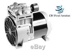 NEW THOMAS 668 model Piston Air Compressor / Vacuum Pump 100 PSI/ 27.5hg 1/2hp