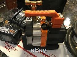 Navac 18 volt cordless Air Vacuum Pump with vacuum hoses and soft case HVAC/R
