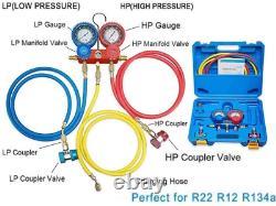 NewPosition 4CFM 1/3HP Air Vacuum Pump HVAC A/C Refrigeration Tool Kit AC, Auto