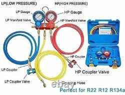 NewPosition 4CFM 1/3HP Air Vacuum Pump HVAC A/C Refrigeration Tool Kit AC wit