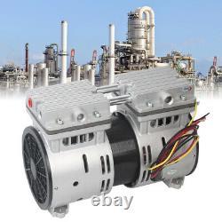 Oil Free/Oilless Piston High Flow Vacuum Air Pump 110V 100L/min 370W Durable NEW