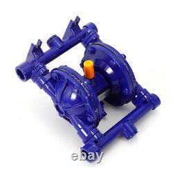 QBK-15 Air-Operated Double Diaphragm Pump 1/2 Inlet Petroleum Fluids Cast Iron