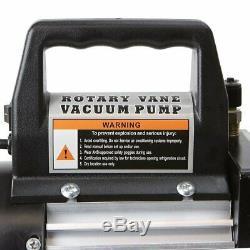 Refrigerant recovery machine 3CFM 1/4HP Air Vacuum Pump HVAC R134a R12 R22 R410a
