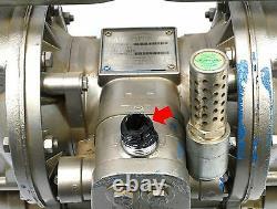 Refurbished SANDPIPER HDF1, DB1A Heavy Duty Flap DIAPHRAGM PUMP Air Operated, 1