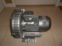 Republic Hrc 400 Regenerative Air Blower 3.4 HP 3 Ph Gast Regenerative Blower
