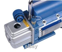 Rotary Vane Deep Vacuum Pump 150W R410a 2PA 2.12CFM AC HVAC Tool Air Conditionin
