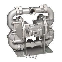 SANDPIPER HDF2, DP6A. Double Diaphragm Pump, Air Operated, 2
