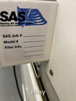 SAS Sentry Air Systems SS-340 40 x 22 x 24 Fume Hood & New Hepa Filter SS-300-HF