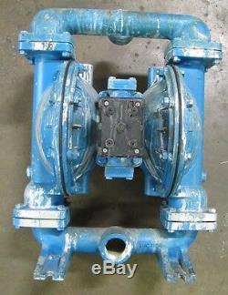 Sandpiper S15b1agtans000 1 1/2 Npt In & Out Aluminum Air & Flow Diaphragm Pump