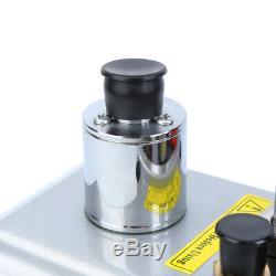 Single Stage 9CFM Rotary Van Deep 3/4HP Vacuum Pump Refrigerant Air Conditioning