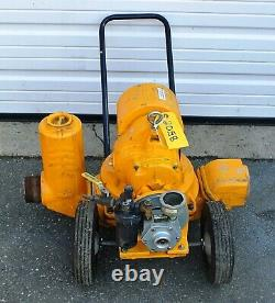 TEEL # 3P681 Self Priming Diaphragm Air Powered Water Pump Plumbing Tool Fre Sh