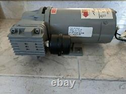 THOMAS 1/3 HP Piston Air Compressor, 12VDC, -/100 Max. PSI Cont. /Int