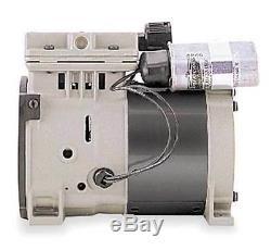 THOMAS 688CE44 Piston Air Compressor/Vacuum Pump, 1/3HP 115V 50/60Hz NEW