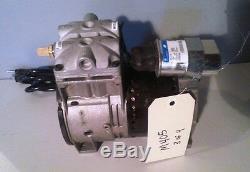 THOMAS 688CE44 Piston Air Compressor/Vacuum Pump, 1/3HP, M405
