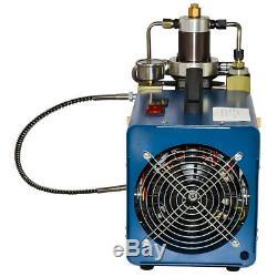 TOP 30MPa Elektrische Air Compressor Pump Hochdruck System Rifle 220V PCP