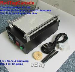 Third Generation XY-528 Build-In Air Pump Vacuum LCD Separator Machine