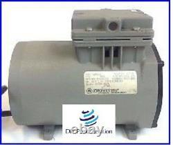 Thomas Compressor / Vacuum Pump 607CA32 115V 30+ PSI Air PUMP