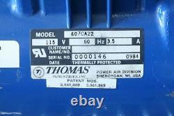 Thomas Industries 607CA22 Air Compressor Type Vacuum Pump