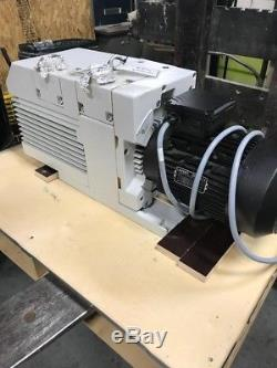 Trivac Oerlikon Leybold Vacuum Pump D65b Low Hours, It Was Used With Air Filter