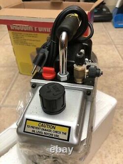 US General 2.5 CFM Refrigerator Air Condition Vacuum Pump 115v MINT! 98076 U. S