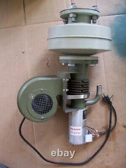 VARIAN 0159 air cooled diffusion pump with Liquid Nitrogen Cryotrap 150L/s
