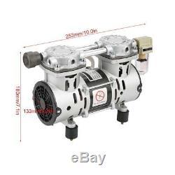 VN-60 220V 260W Oil-Free Air Compressor Motor Vacuum Built-in Silencer Pump
