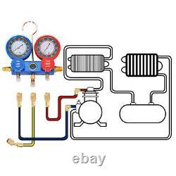 Vacío de aire 3HP Air Vacuum Pump HVAC Refrigeration Auto AC Manifold R134 4CFM