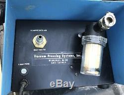 Vacu Press / VacuPress Air Powered Vacuum Veneer Press Pump