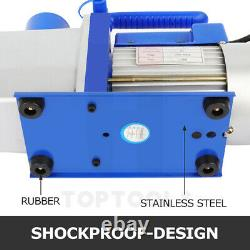 Vacuum Pump 7CFM Rotary Vane 1 Stage 1/2HP Deep HVAC AC Air Conditioning Tool
