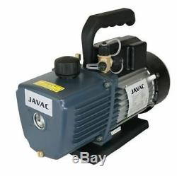 Vacuum pump Javac CC-141 5.3 CFM for air conditioning twin stage new AC0027/6