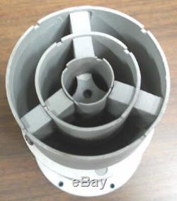 Veeco Air-Cooled Diffusion Pump, Model EP2A-1, 2 Inlet, 300 LPS