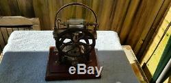 Vintage Air Compressor Vacuum Pump Electric Motor Dental Medical Equipment