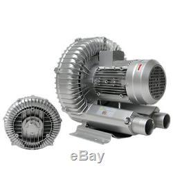 Vortex High Pressure Industrial Air Pump Blower 220V 1PH 750W Dry Blower Fan