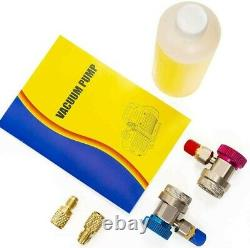 XtremepowerUS 3CFM 1/4HP Air Vacuum Pump A/C Refrigeration R12 R22 R410a R134a