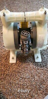 YAMADA NDP-25BPS-PP 1 DIAPHRAGM AIR PUMP 100 psi. FREE SHIPPING