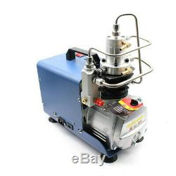 YONG HENG 30MPa Air Compressor Pump PCP Electric 4500PSI High Pressure with Gauge